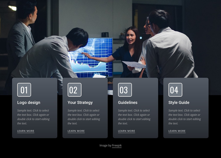 Effective business meetings HTML Template
