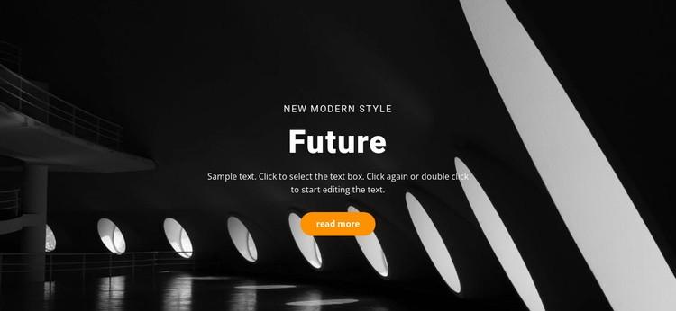 Future building concepts Static Site Generator