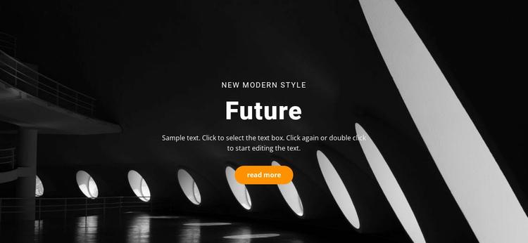 Future building concepts Website Builder Software