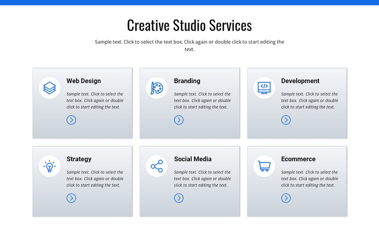 Creative studio services WordPress Theme