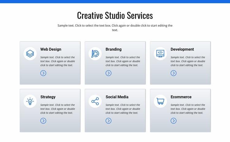 Creative studio services Wysiwyg Editor Html