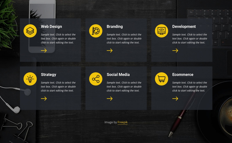 Business and law services Web Page Designer