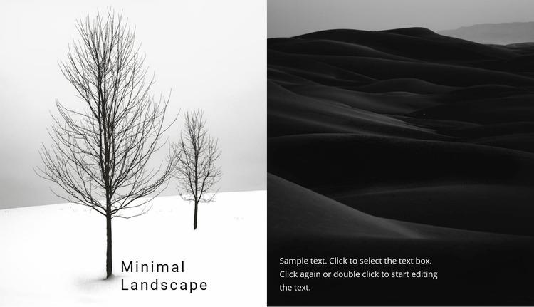 Landscape and nature WordPress Website Builder