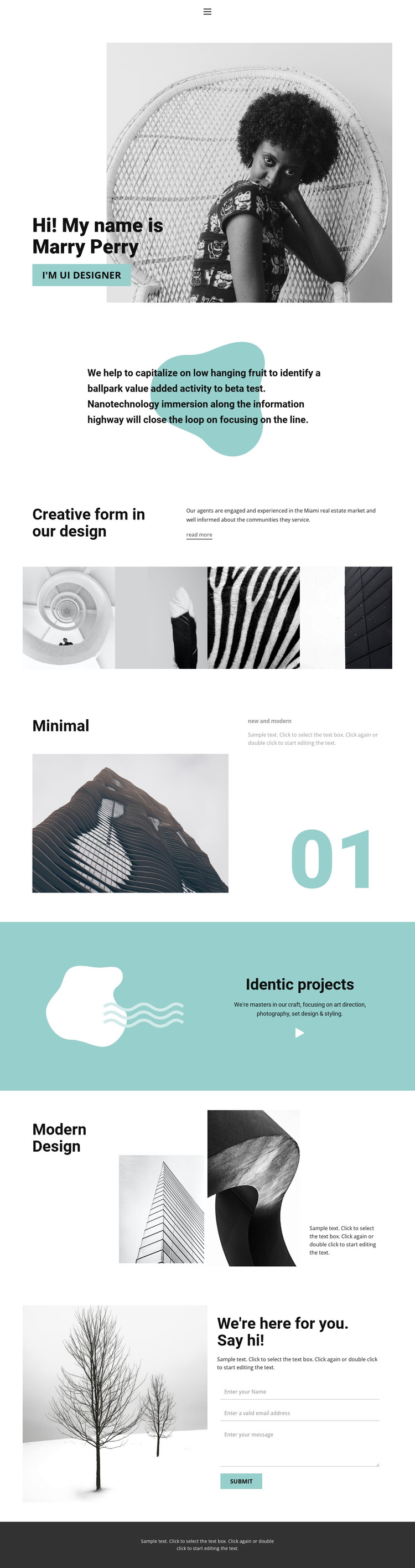 Web design from our studio HTML Template