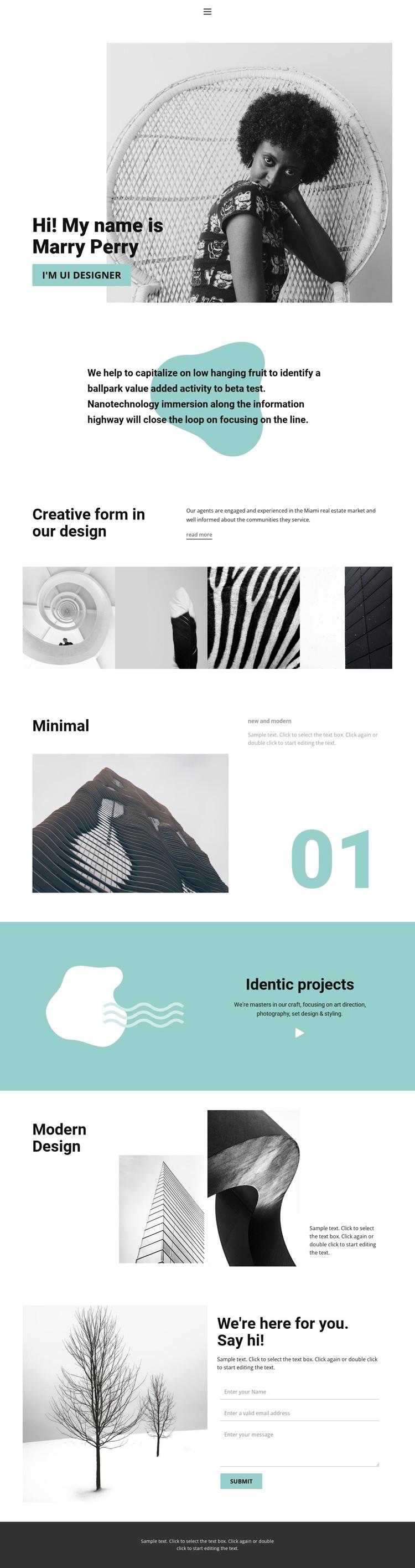 Web design from our studio Static Site Generator