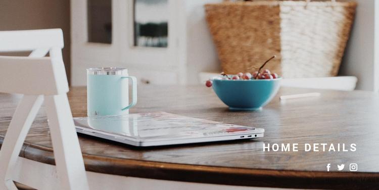Home interior details Website Builder Software