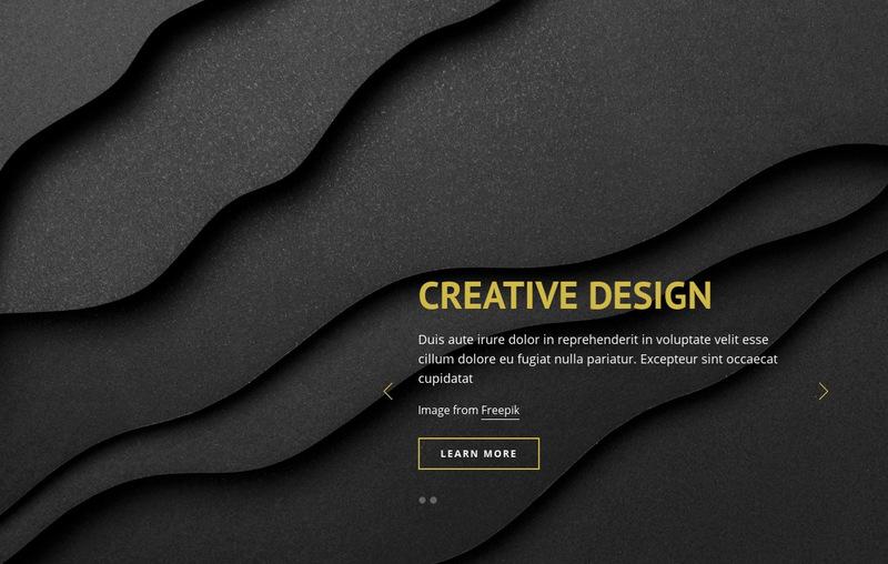 Area of graphic design Web Page Designer
