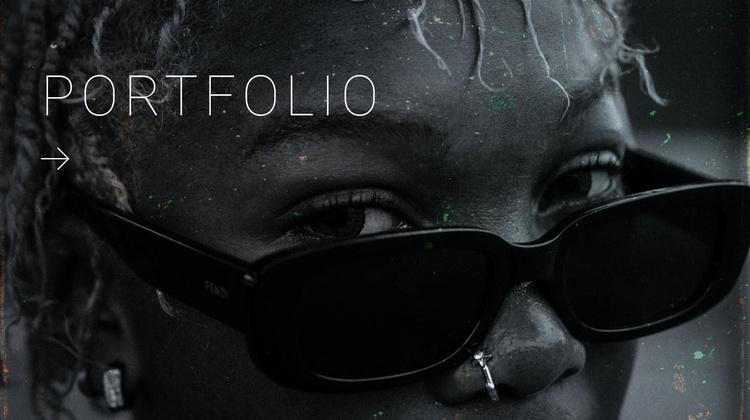 Creative design portfolio Joomla Template