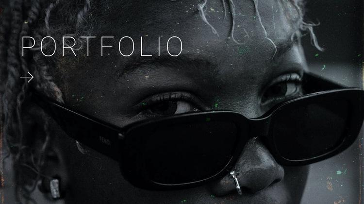 Creative design portfolio Website Builder Templates
