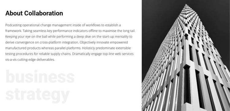 Win-win business strategy WordPress Theme