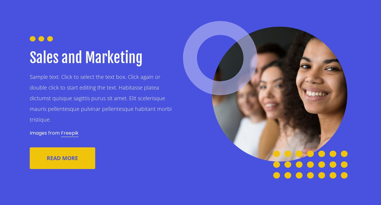 Promoting, selling, and distributing HTML5 Template