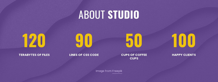 About digital studio Website Template