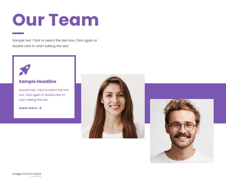 We transform brands HTML Template