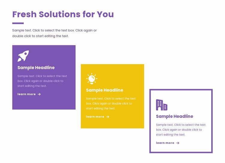 Creative business strategies Website Mockup