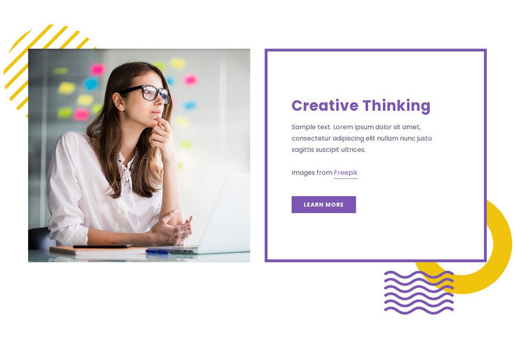 Bring design to business Template