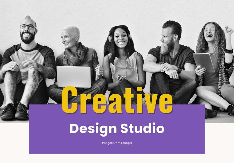 Illustration, video and photography WordPress Website Builder