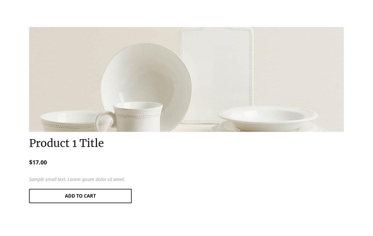 Interior product details Template