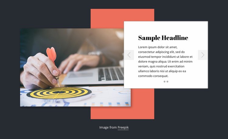 About consulting company Website Template