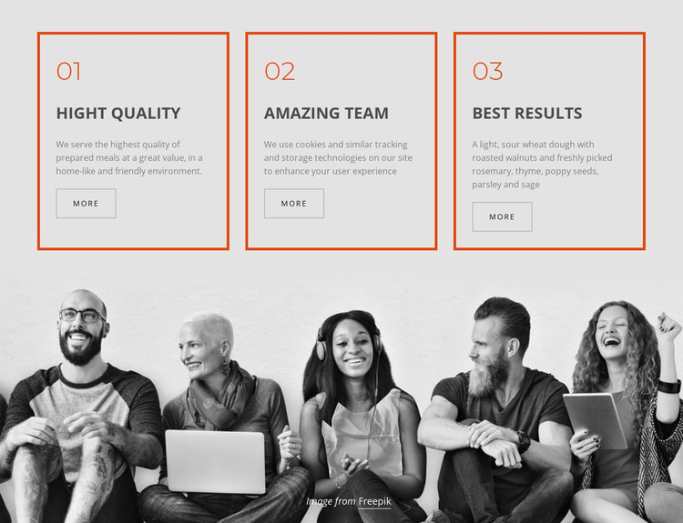 Company business services HTML5 Template