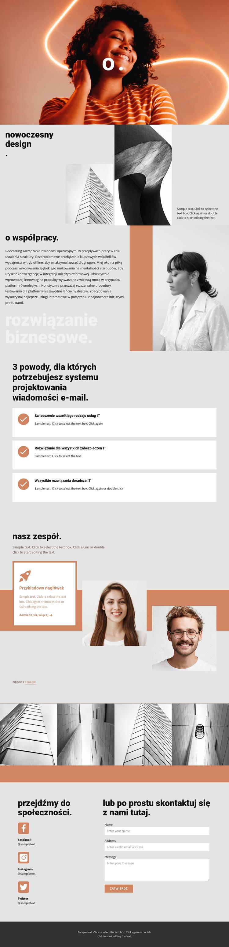 Związek Artystów i Architektów Szablon witryny sieci Web