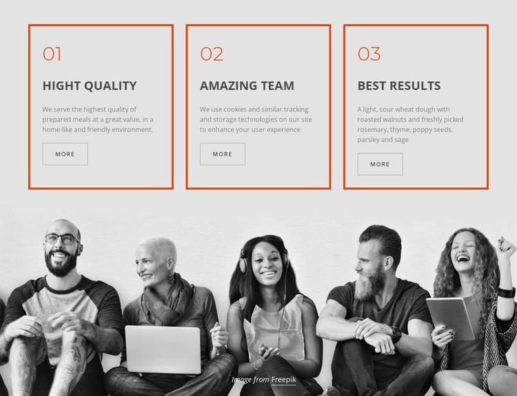Company business services Template