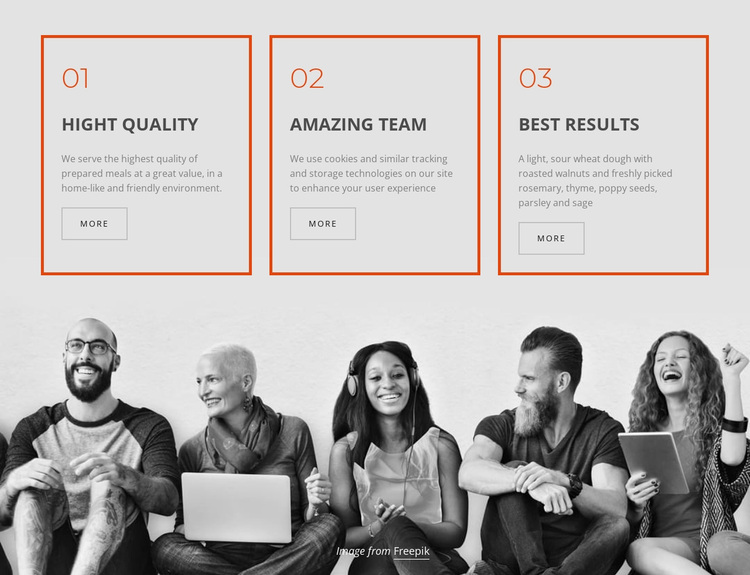 Company business services Website Design