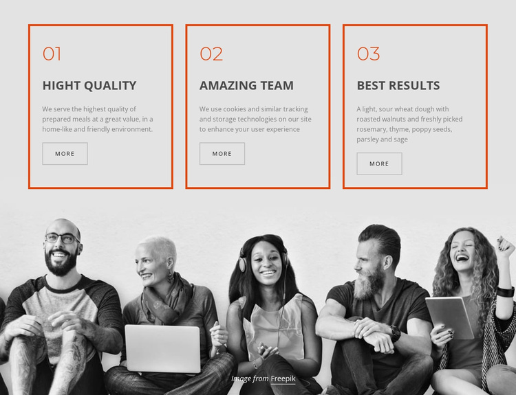 Company business services Website Template