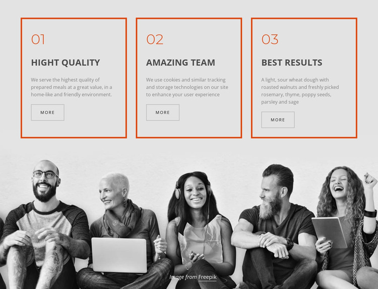 Company business services Woocommerce Theme