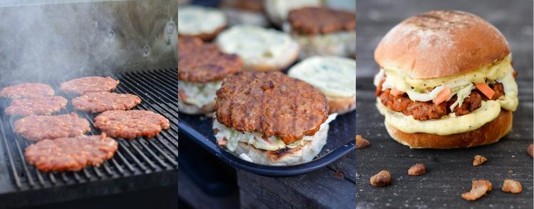 Gallery with street food WordPress Website
