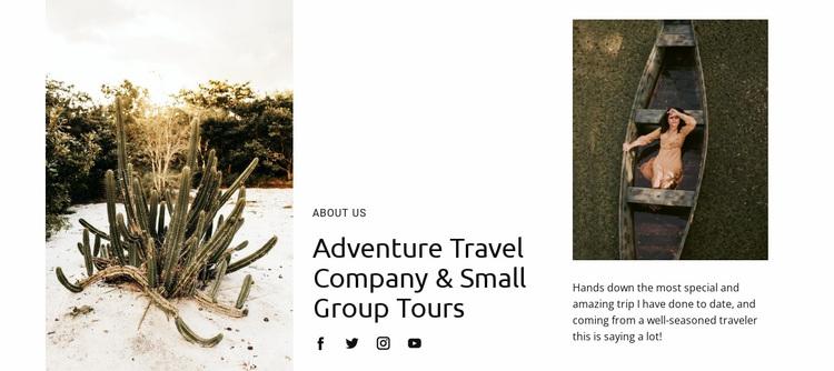 Travel Crazy Ideas Website Design