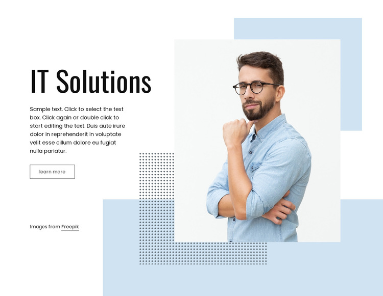 IT business service HTML5 Template