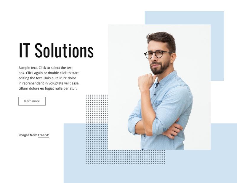 IT business service Website Creator