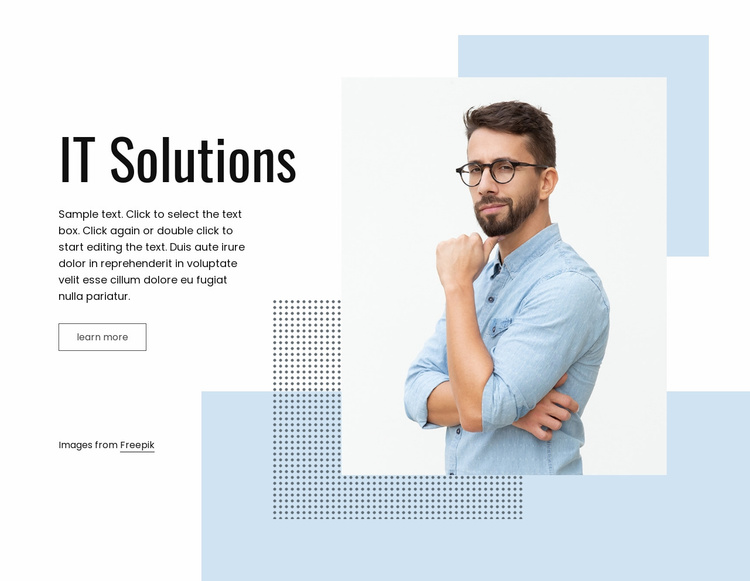 IT business service Website Template