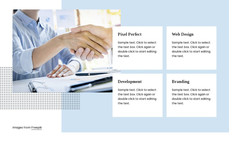 Digital agency services One Page Template