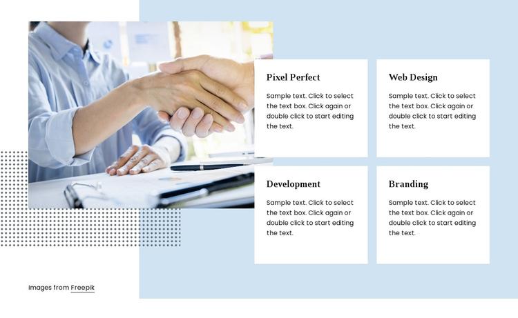 Digital agency services Website Builder Software