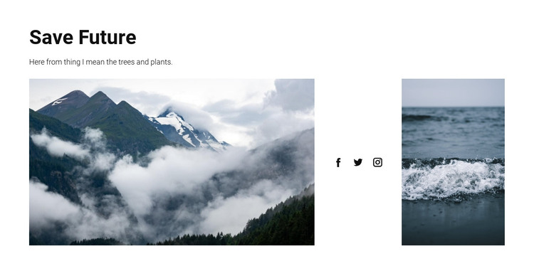 Save nature for future HTML Template