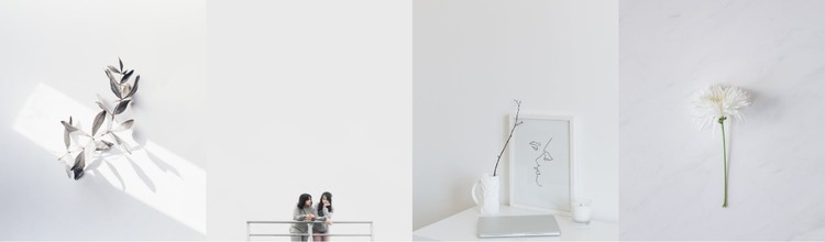 Minimalism in photographs CSS Template