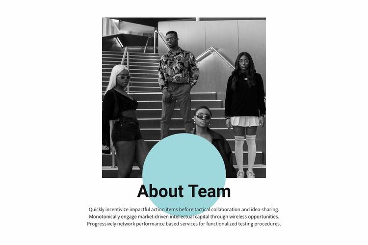 Young professionals Html Website Builder