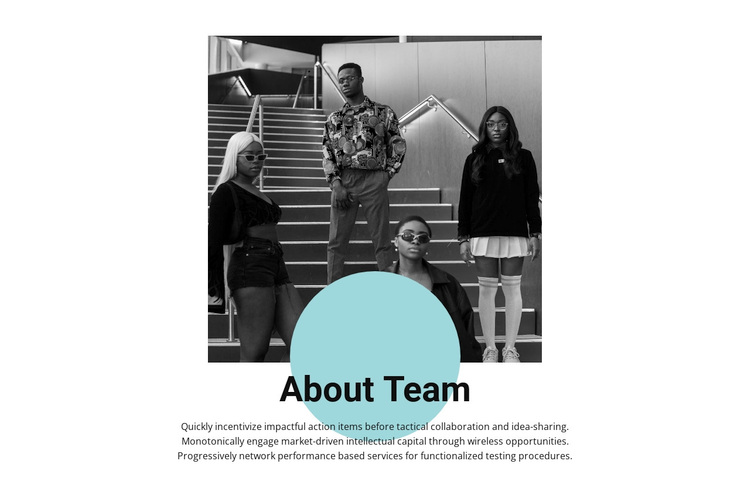 Young professionals Template