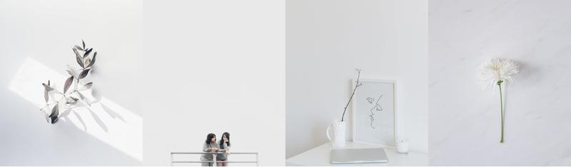 Minimalism in photographs Website Maker