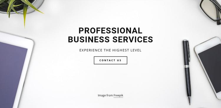 Pro  business services Website Builder Software