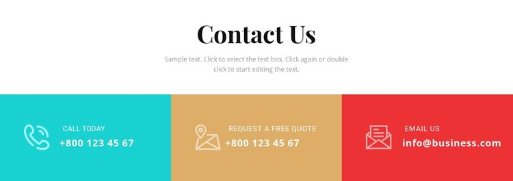 Contact our business Static Site Generator