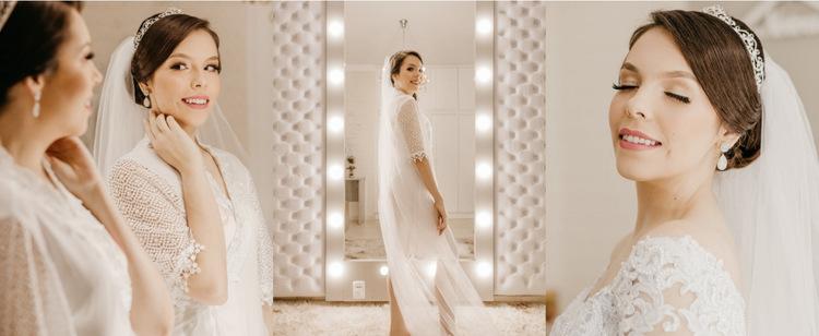 Galeria sukni ślubnych Szablon witryny sieci Web