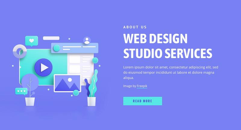 We bring designs to life Web Page Designer