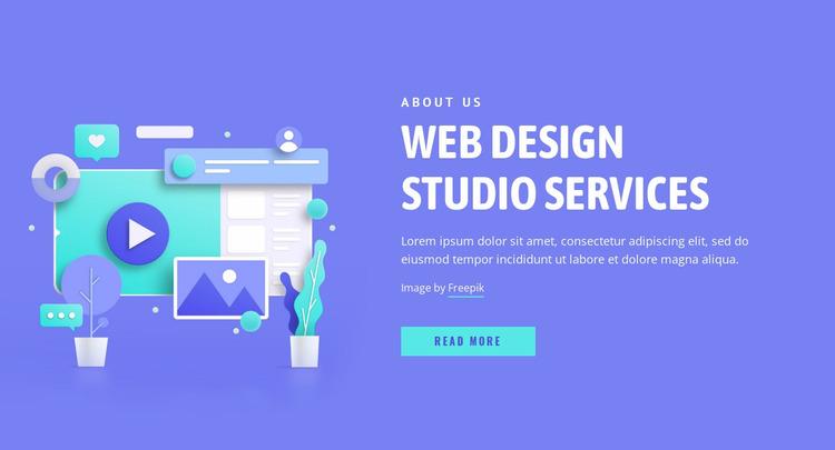 We bring designs to life Website Mockup
