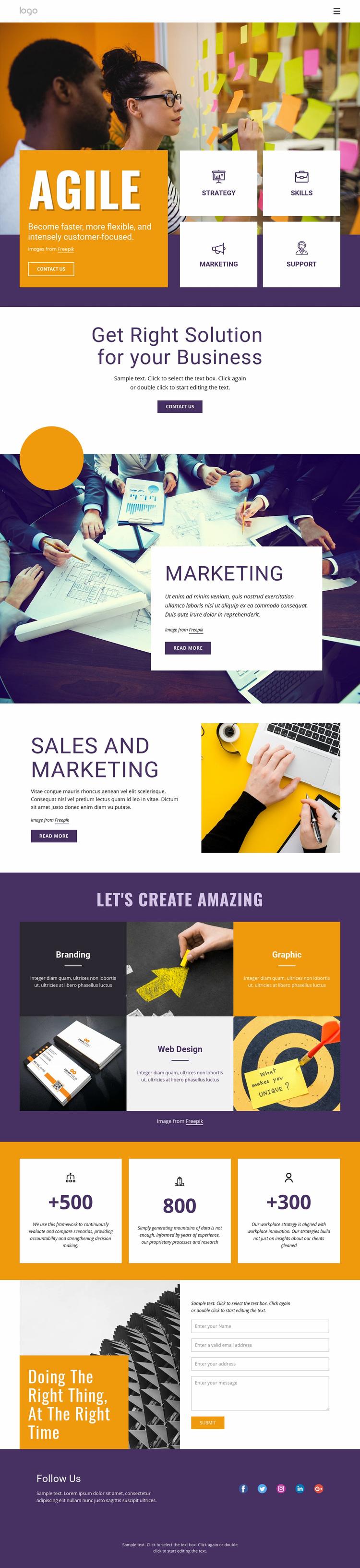 IT business services Web Page Designer