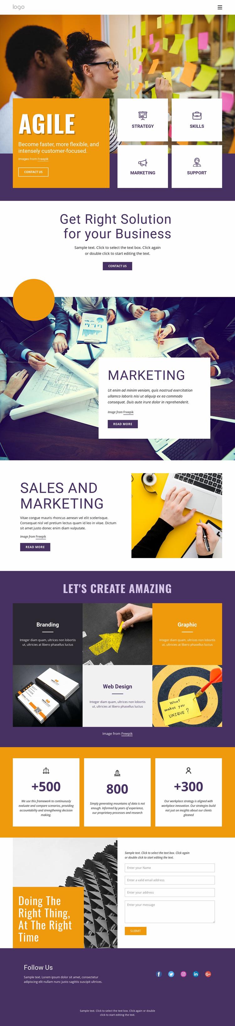 IT business services Website Design