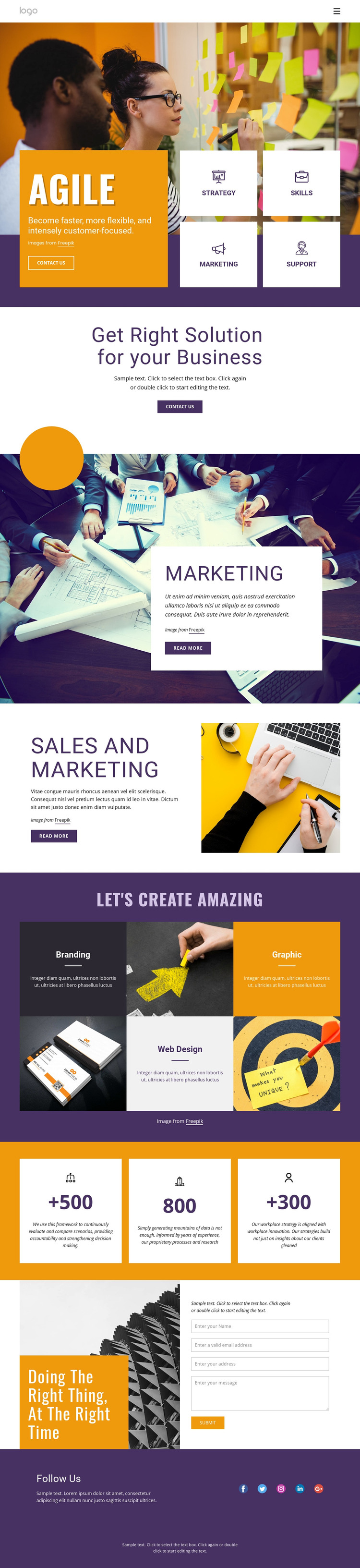 IT business services WordPress Theme