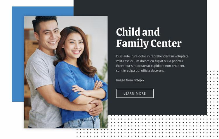 Family medicine center Landing Page