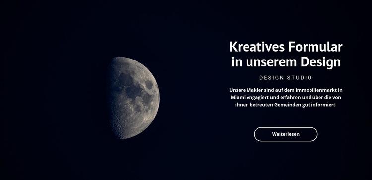 Raumthema in Projekten Website-Vorlage
